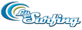 Lets Go Surfing Surfing logo