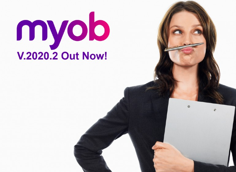 MYOB Upgrade Version 2020.2 is Out