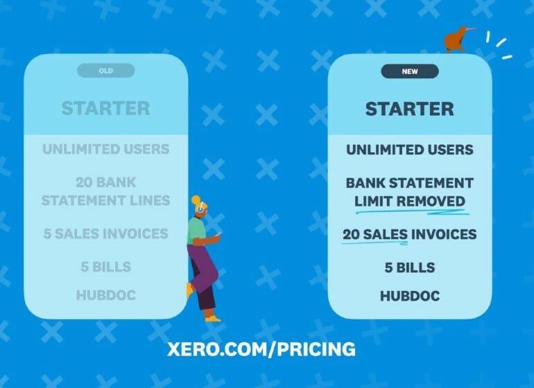 xero pricing